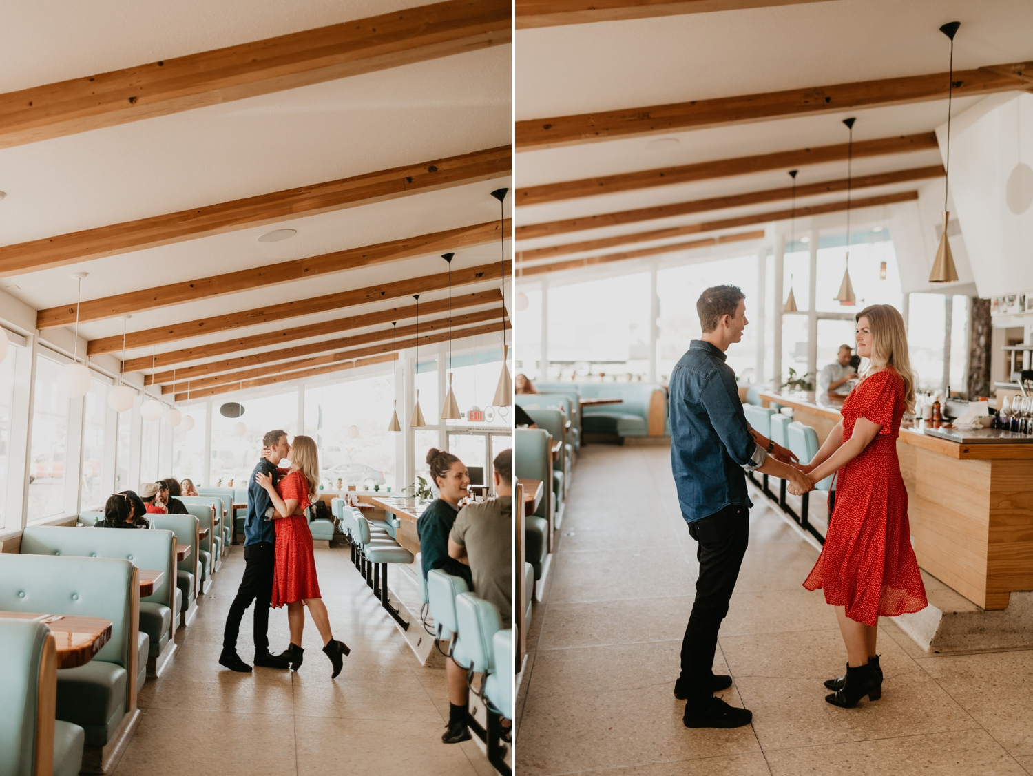Welcome Diner Tucson Arizona Engagement session