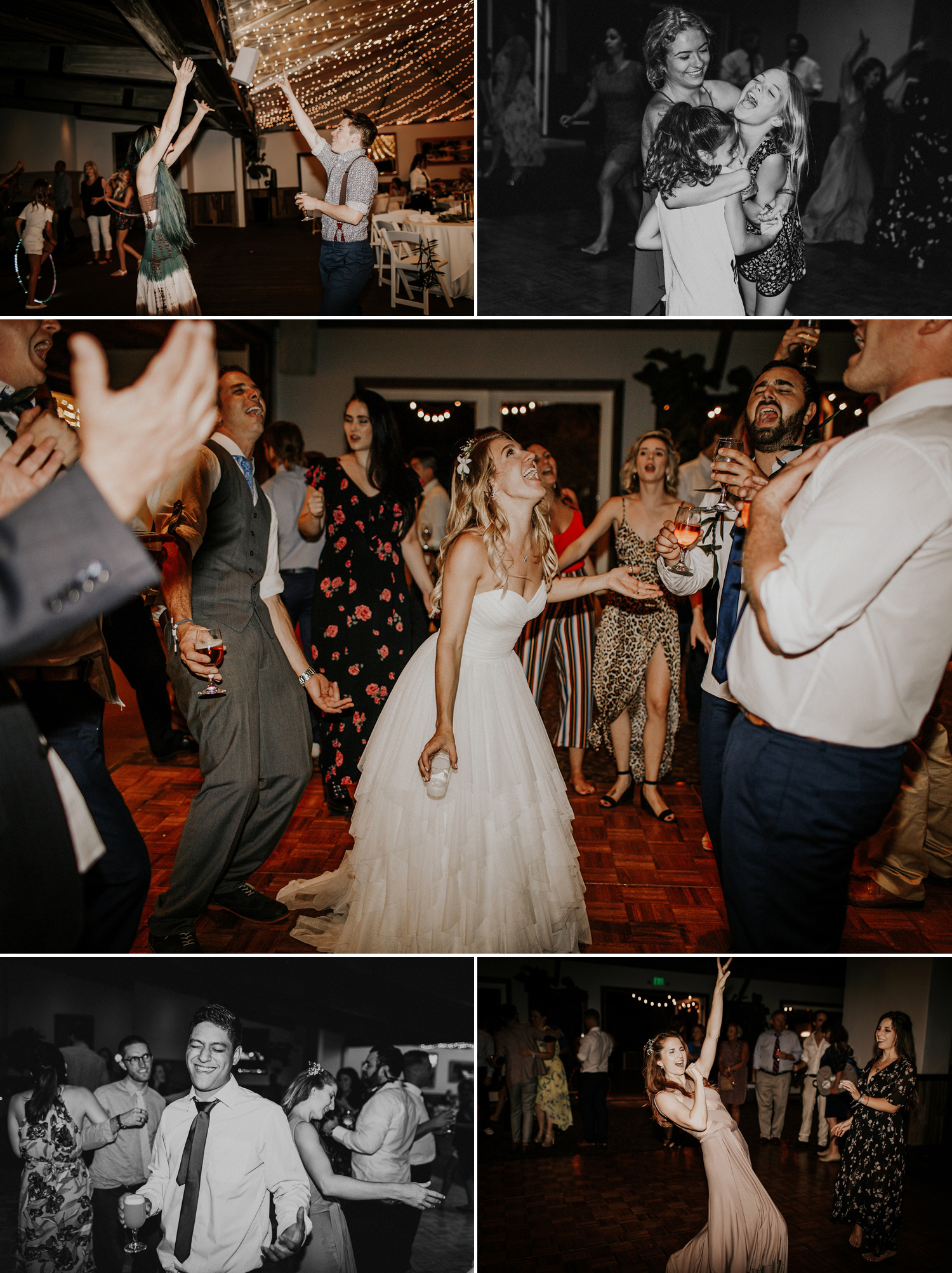 A festival themed wedding at Calamigos Ranch in Malibu, California by Kadi Tobin Photographer