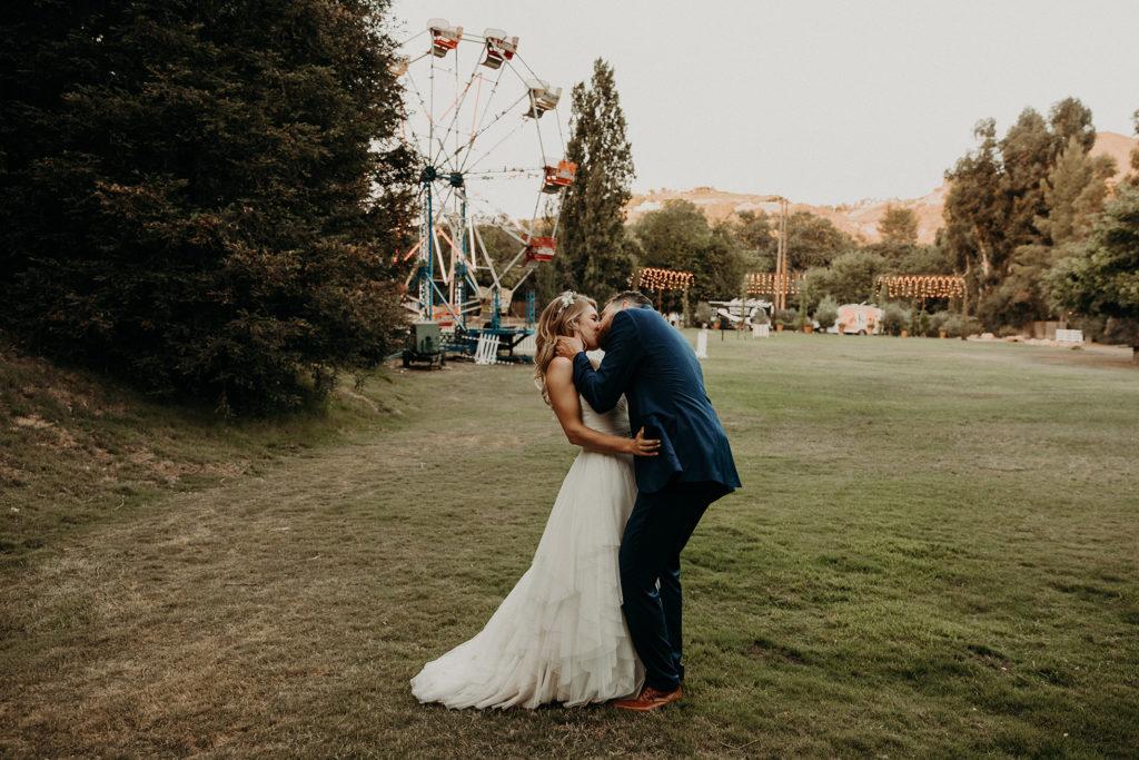 A calamigos ranch wedding in Malibu