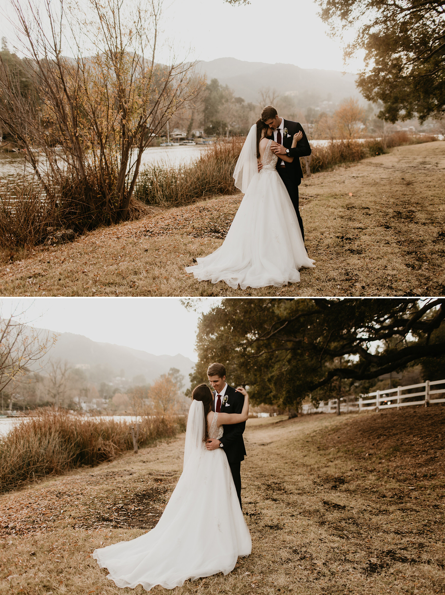 Bree and Logans Lodge at Malibou Lake wedding by Malibu Wedding Photographer, Kadi Tobin