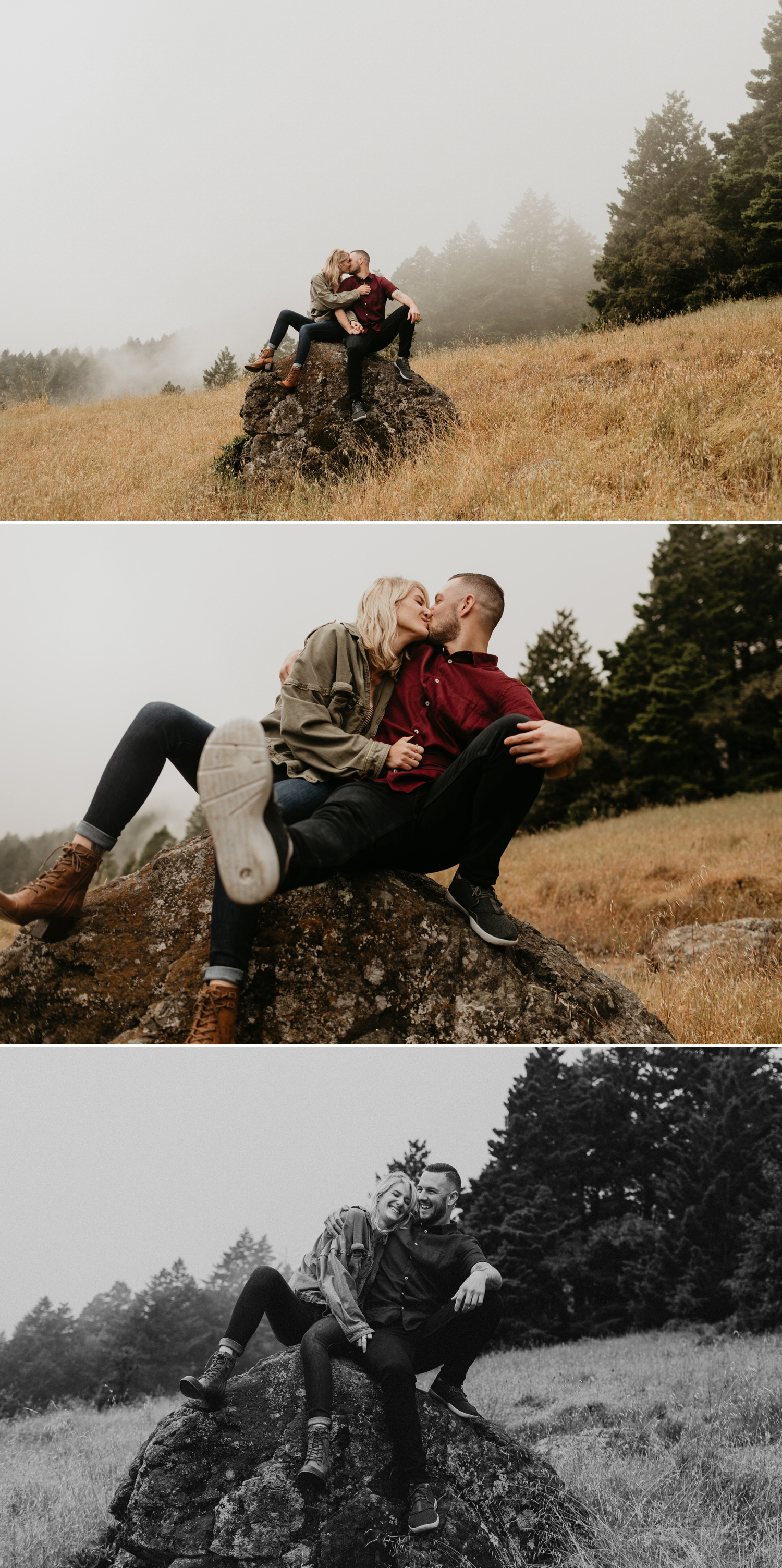 Mount Tamalpais Engagement Bay Area