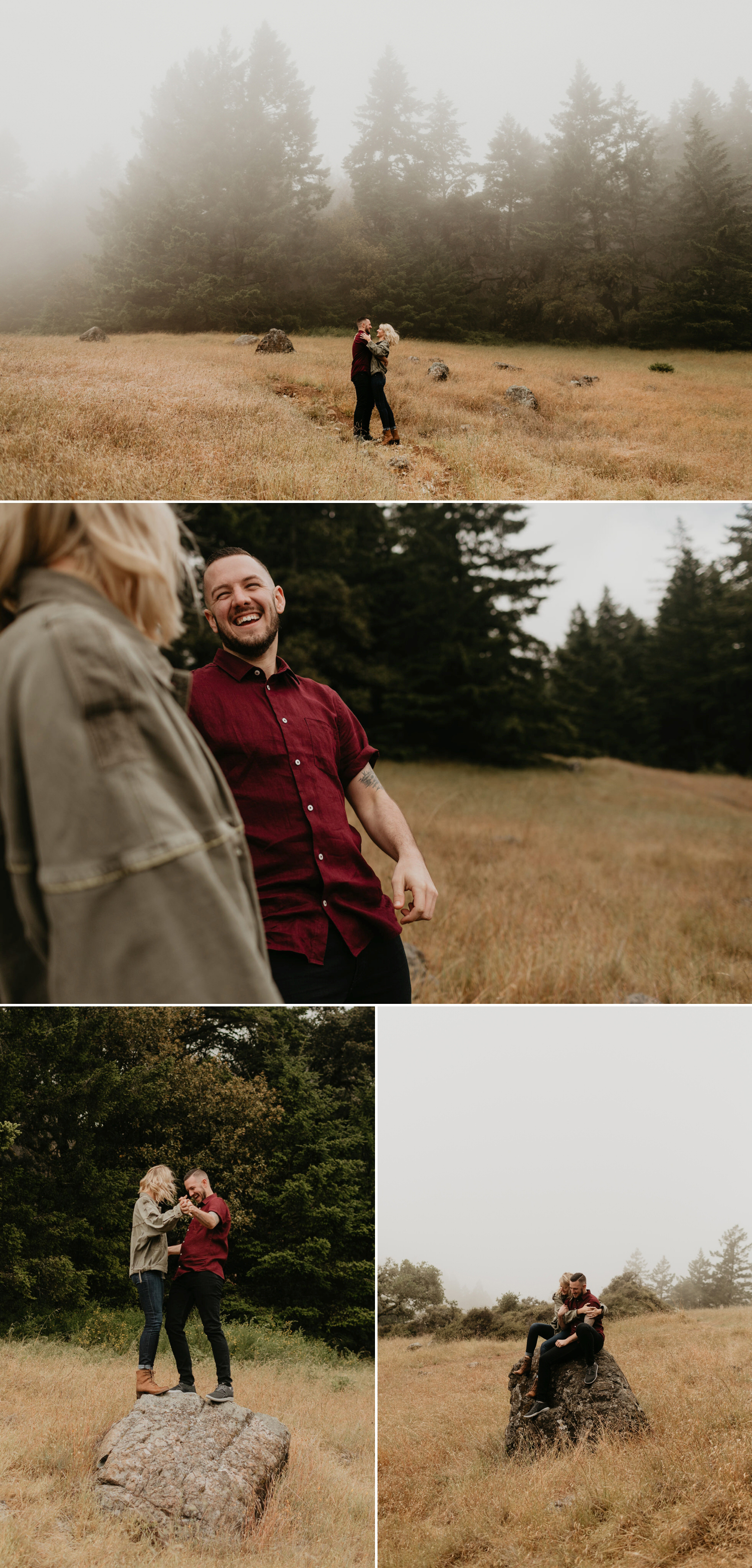 mountain engagement outfit inspiration