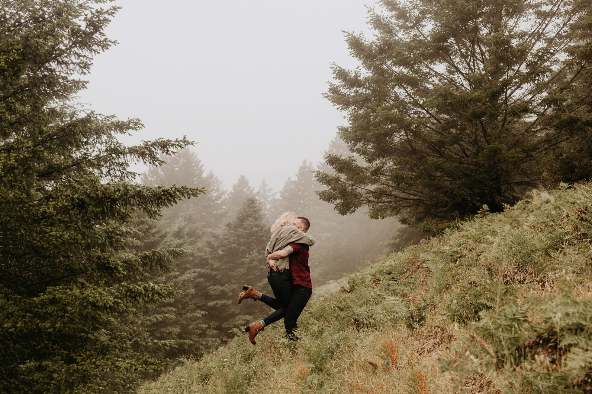 Mount Tamalpais Engagement Bay Area