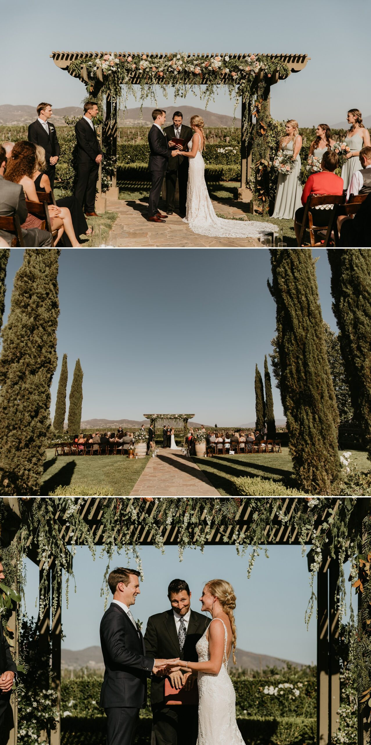 Wedding at Ponte Winery and Vineyard